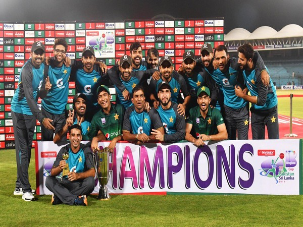 Pakistan win the ODI series against Sri Lanka  (Photo/ PCB Twitter)