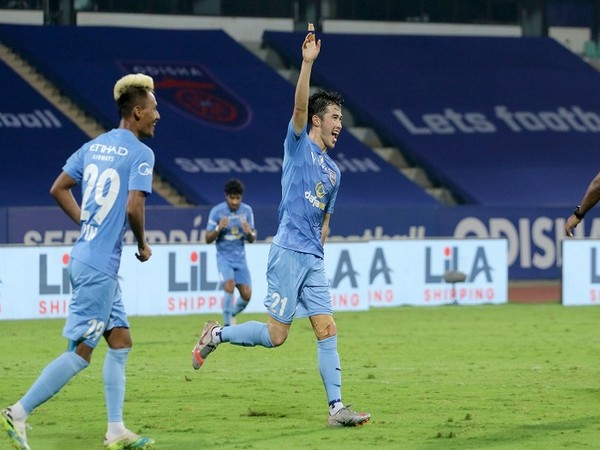 CY Goddard scored his debut goal with a spectacular strike (Image: ISL)
