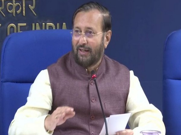 Union Minister Prakash Javadekar during the Cabinet briefing in New Delhi on Wednesday. (Photo/ANI)