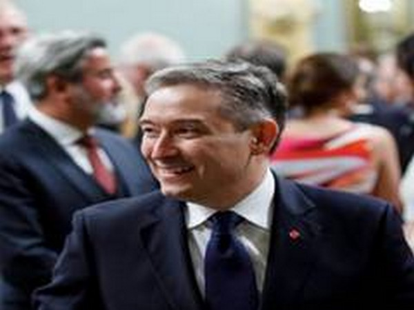 Canadian foreign minister Francois Philippe Champagne