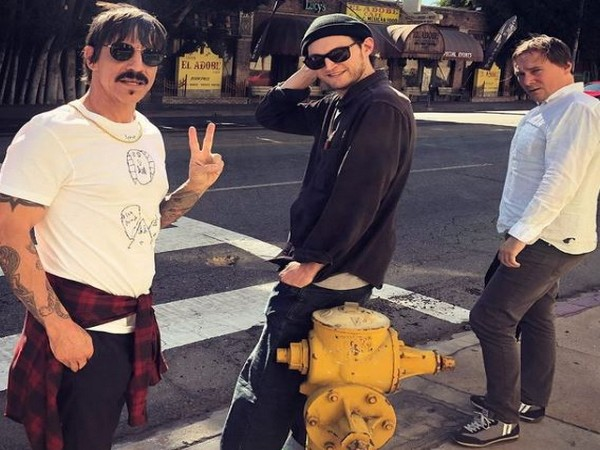 Members of Red Hot Chili Peppers (Image Source: Instagram)
