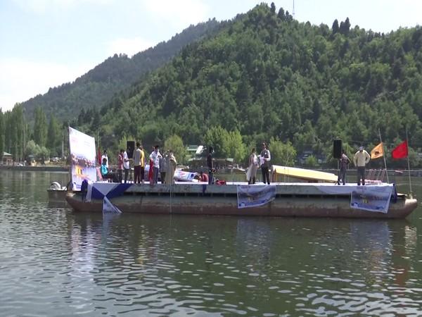 Capacity building program, Dal Lake (Photo/ANI)