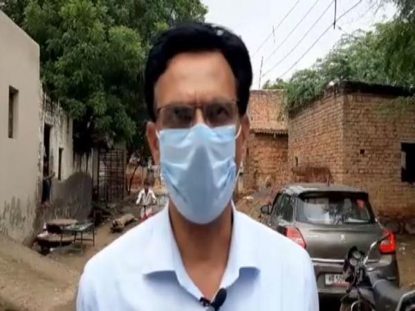 Vijay Kumar, the Senior Medical Officer, Hathin. (Photo/ANI)