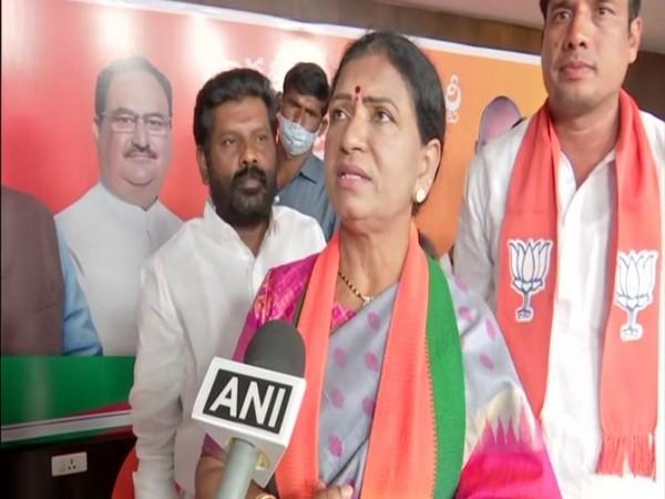 DK Aruna, the National Vice President of BJP. (Photo/ANI)