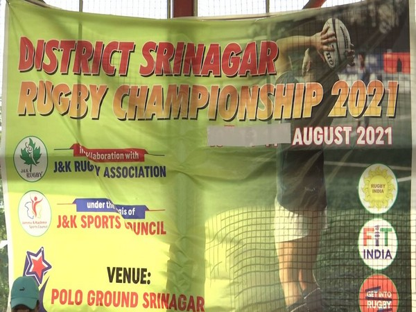 Srinagar is one of the 16 districts of J-K where the district-level Rugby championship is being held. (Photos/ANI)