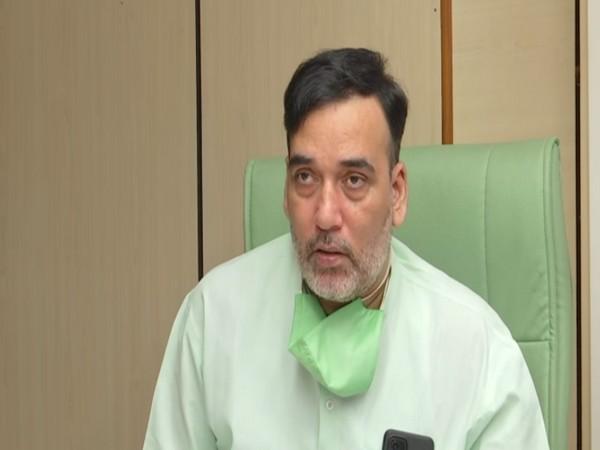 Delhi Environment Minister Gopal Rai. (Photo/ANI)