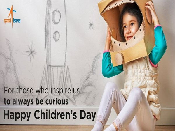 ISRO extends wishes to the kids across the nation on the occasion of Children's Day (Photo/ISRO Twitter)