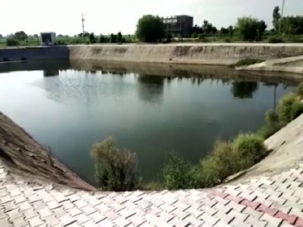 Locals of a small village take initiative to preserve waste household water and make it usable by installing sewerage treatment plant (Photo/ANI)