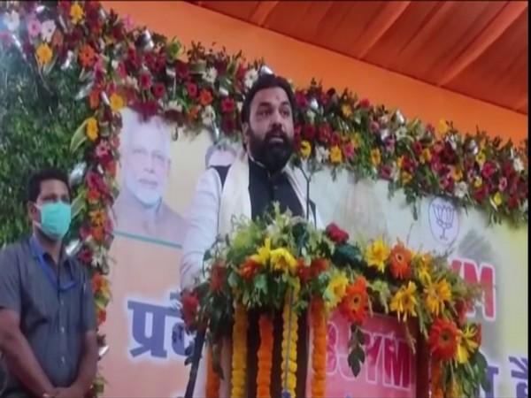 BJP leader Samrat Chaudhary