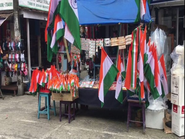 The markets for the National flag is receiving a lukewarm response