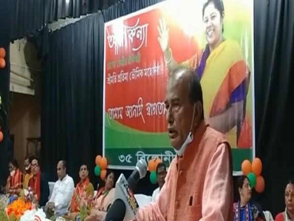 BJP MLA Arun Chandra Bhowmik (Photo/ANI)