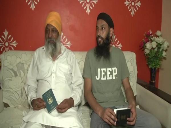 Afghan Sikhs in Punjab's Ludhiana (Photo/ANI)