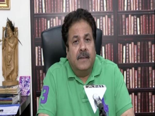 BCCI Vice President Rajeev Shukla (Photo/ANI)