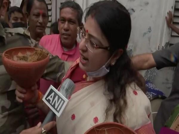 BJP candidate Priyanka Tibrewal (Photo/ANI)