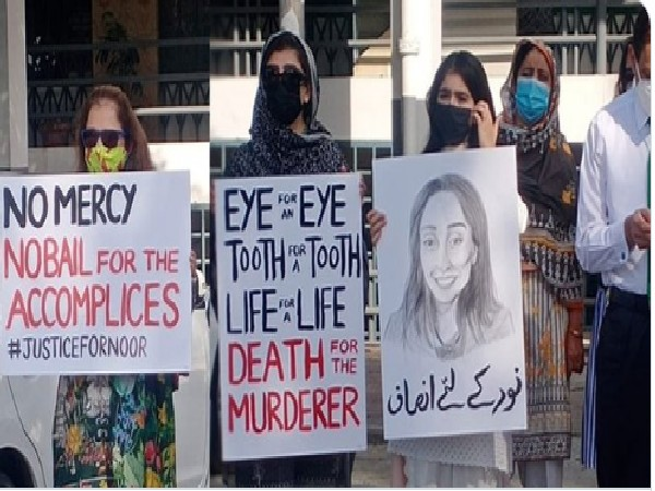 Noor, 27, daughter of former Pakistani diplomat Shaukat Mukadam, was found murdered at a residence in Islamabad on July 20.