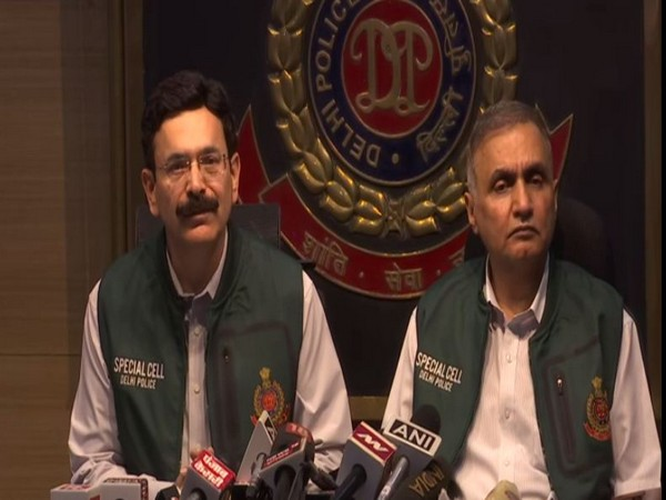Neeraj Thakur, Special Cell Commissioner, Delhi Police (L) (Photo/ANI)