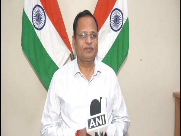 Delhi Cabinet Minister, Satyendar Jain (Photo/ANI)