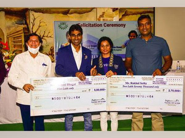 Olympians felicitated at KIIT