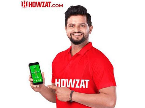 Fantasy sports platform Howzat signs Suresh Raina as a brand ambassador