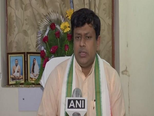West Bengal BJP chief Sukanta Majumder (Photo/ANI)