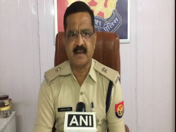 Ranvijay Singh, Additional Deputy Commissioner of Police, Noida. (Photo/ANI)