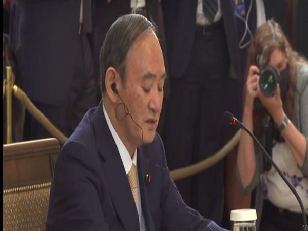 Japanese PM Yoshihide Suga at Quad summit