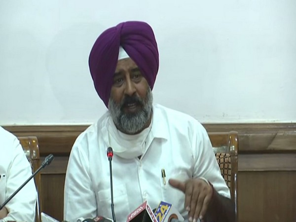 Pargat Singh adressing a press conference in Chandigarh (Photo/ANI)