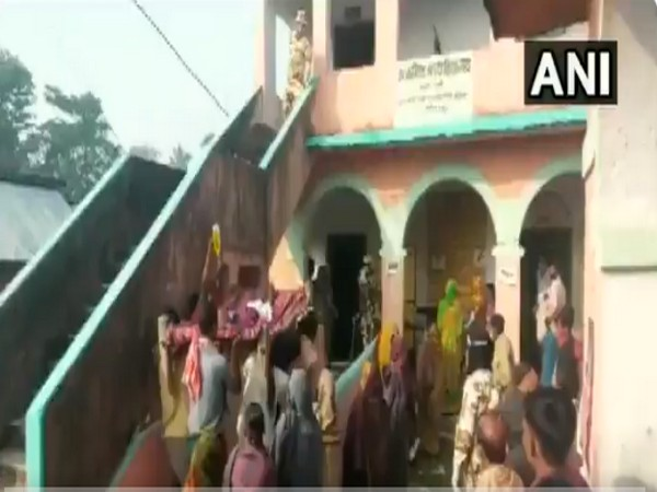 Visual from the polling station in Katihar.
