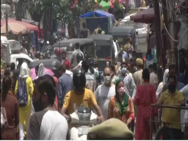 Old City Market Jammu (Photo/ANI)