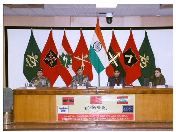 Indian army signs MoU