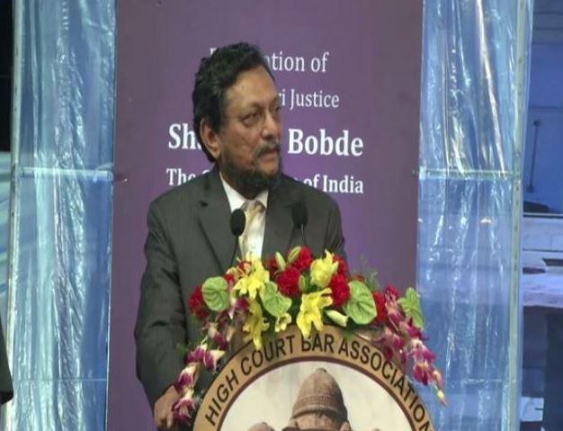 CJI Sharad Arvind Bobde. File photo