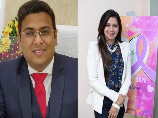 Dr Tarang Krishna and Dr Deepica Krishna
