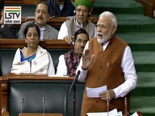 Prime Minister Narendra Modi in Lok Sabha on Thursday