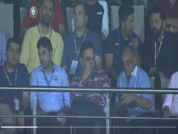 Arun Singh Dhumal and Jay Shah in attendance for match between India and Bangladesh (Photo/ BCCI Twitter)