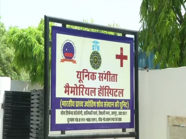 'Unique Sangeeta Memorial Hospital' in Jaipur diagnoses diseases using Medical Science and Astrology.  [Photo/ANI]