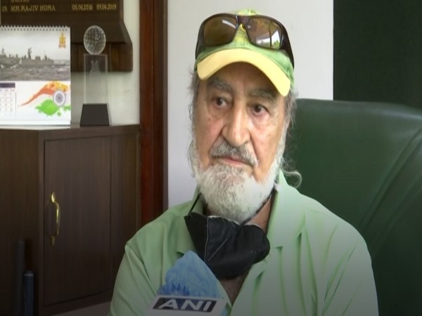 Major (Retired) Ravinder Singh Bedi, President of Delhi Golf Club. (Photo/ANI)