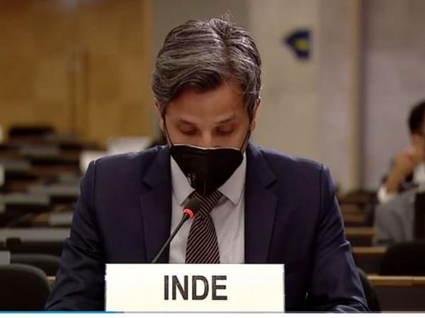 Vimarsh Aryan, First Secretary, India's permanent mission to UNOG