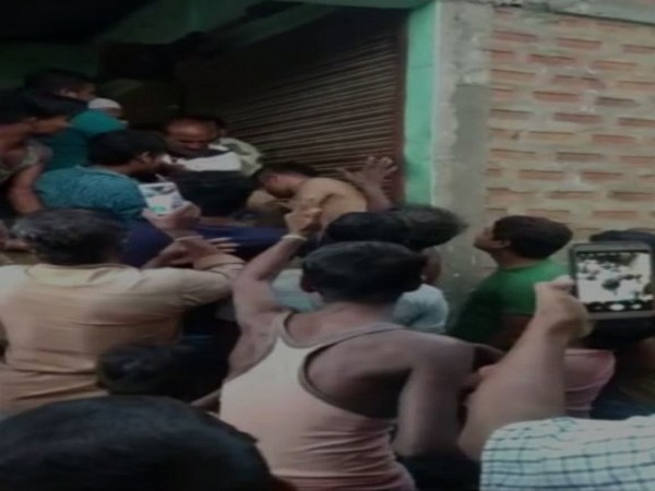 At least 12 security personnel were injured after they were attacked by an irate mob in Assam's Hailakandi district.