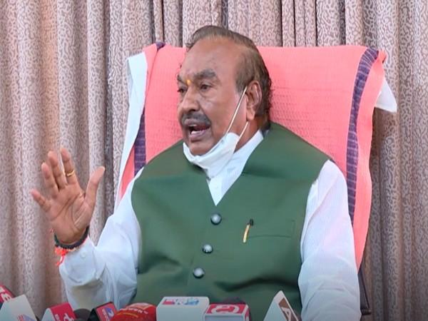 Karnataka Minister KS Eshwarappa (Photo/ANI)