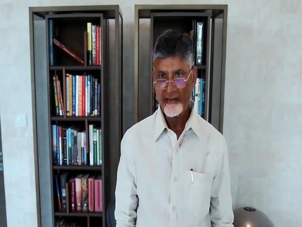 N Chandrababu Naidu interacted with students from IIT Bombay on Saturday.