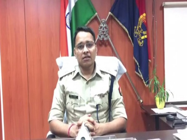 Assistant Commissioner of Police, Vineet Jaiswal while speaking to ANI. (Photo/ANI)