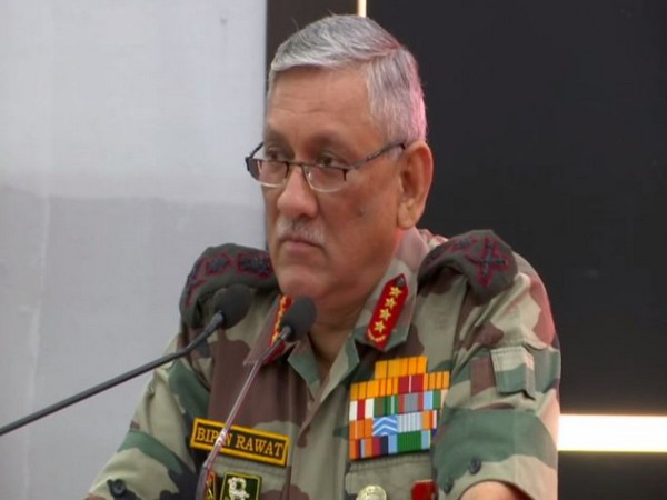 Army Chief General Bipin Rawat speaking at the launch of Indigenous Defence Equipment Exporters Association on Friday in New Delhi (Photo/ANI)