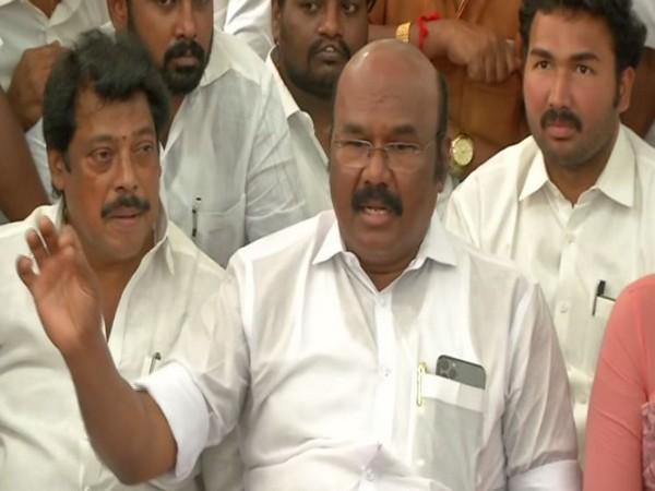 Fisheries Minister D Jayakumar while speaking to ANI on Friday (Photo/ANI)