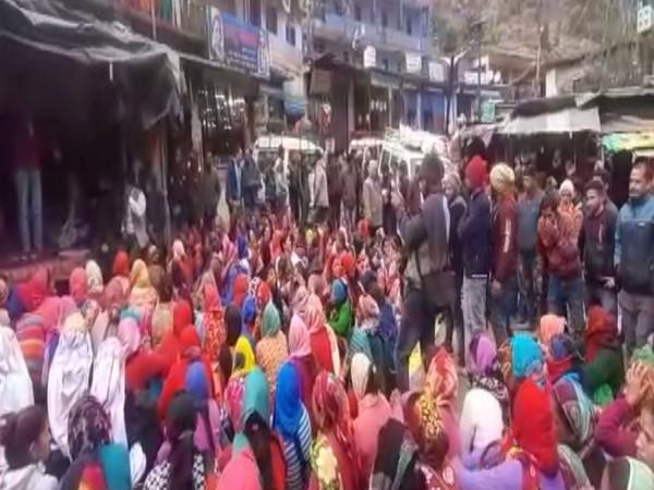 Chamoli protest