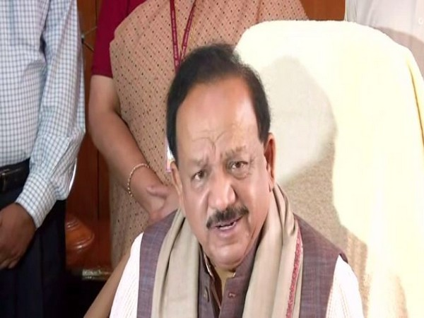 Government plans to utilize 400-500 million COVID-19 vaccine doses to cover 20-25 crore people by July 2021, says Harsh Vardhan (Pgoto/ANI)