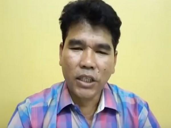 IPFT spokesman Mangal Debbarma (Photo Credits: Youtube)