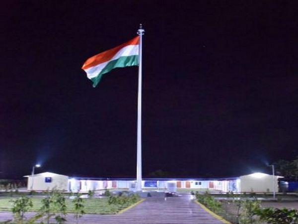 CRPF complex in Naxal-hit Bastar gets 100 ft tall flagpole