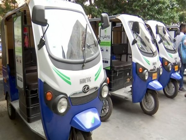 e-yAna service launched in Hyderabad to reduce carbon footprint (Photo/ANI)