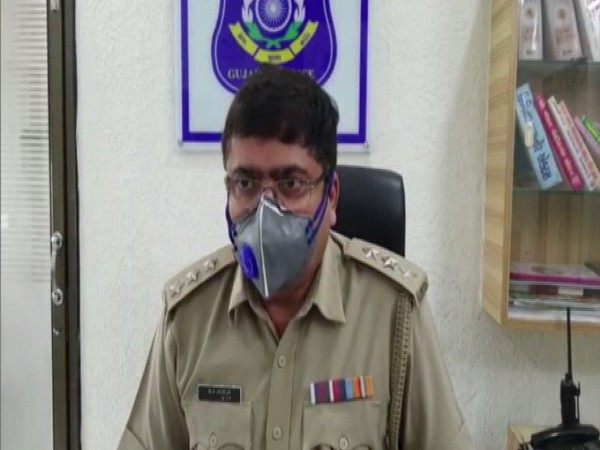 B. De Jadeja, Deputy Superintendent of Police (DYSP), Anand in conversation with ANI. (Photo/ANI)