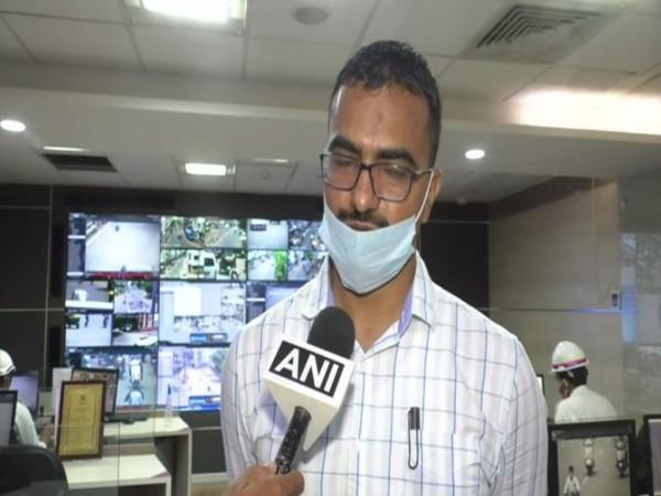 Sandeep Chaudhary, Deputy commissioner of police, Zone 2, Vadodara city (Photo/ANI)